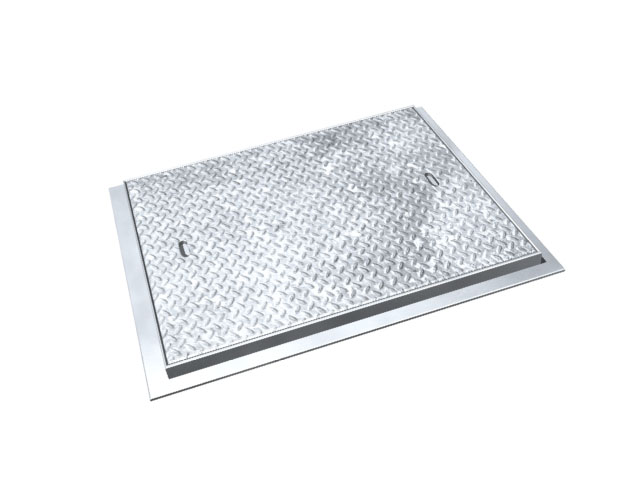Chequer Plate Manhole